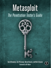 Metasploit – The Penetration Tester's Guide Front Cover